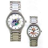 Reloj de pulso con caja y extensible metalicos | Articulos Promocionales