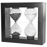 Reloj de arena duo 3 y 5 min sand