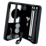 Set portatil para practicar golf