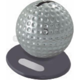 Alcancía metálica esfera | Articulos Promocionales