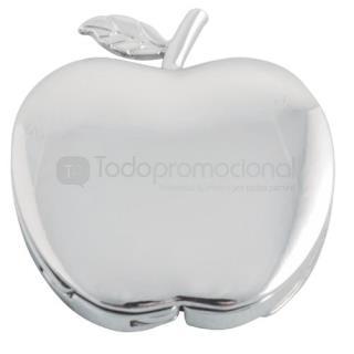 Portabolsas metálico manzana | Articulos Promocionales