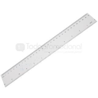 REGLA PVC 30 cm | Articulos Promocionales