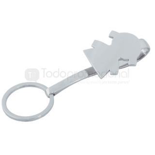 LLavero y porta llaves metálico niña | Articulos Promocionales