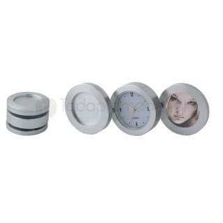 Reloj de aluminio con portarretrato | Articulos Promocionales