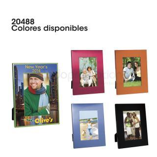 Portarretrato Colorful Brushed   Articulos Promocionales