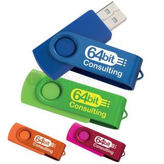 Hélice Duo Memoria USB 2.0 - 4GB | Articulos Promocionales