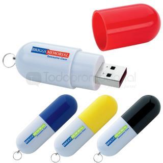 Cápsula Memoria USB 2.0 - 4GB | Articulos Promocionales