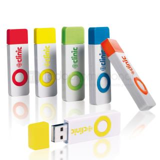 Color Pop Memoria USB 2.0 - 4GB | Articulos Promocionales