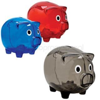 Alcancía de Plástico Pig | Articulos Promocionales