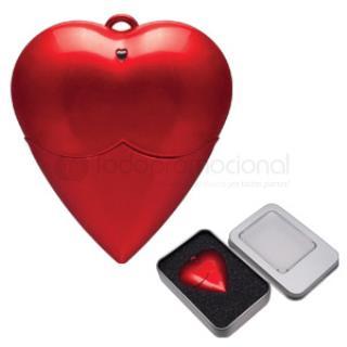 USB Forma de Corazón | Articulos Promocionales
