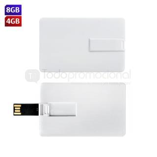 USB Tarjeta de Crédito Slim | Articulos Promocionales