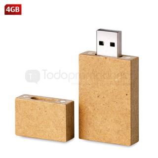 USB Cartón Rectangular | Articulos Promocionales