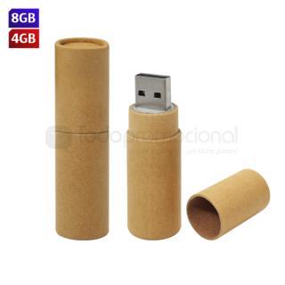 USB Cilindro Ecológico | Articulos Promocionales