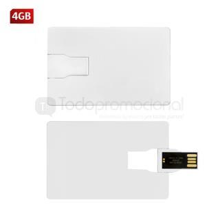 USB Tarjeta Plástica Slim   Articulos Promocionales
