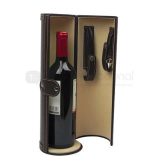 Estuche para Vinos Cilindro   Articulos Promocionales