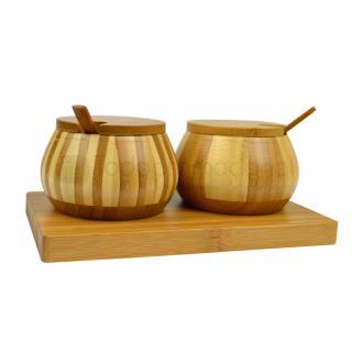 Bamboo Caster Set   Articulos Promocionales