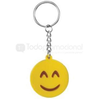 Llavero Emoji Smile   Articulos Promocionales